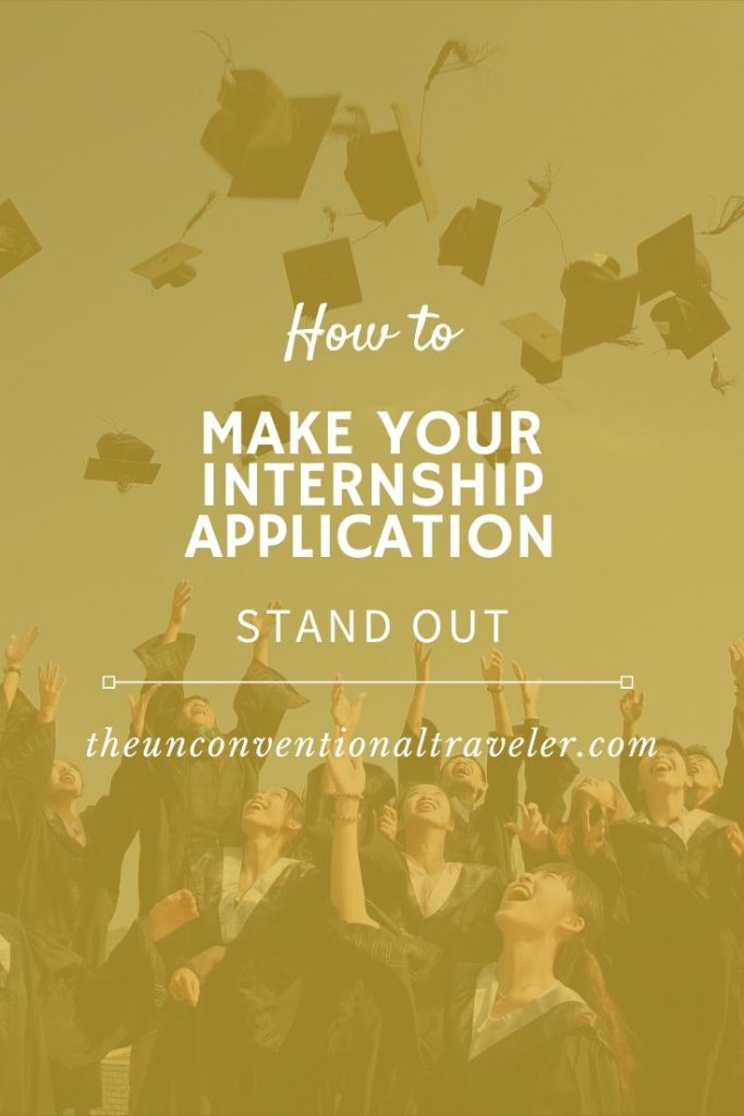 How to make your internship application stand out